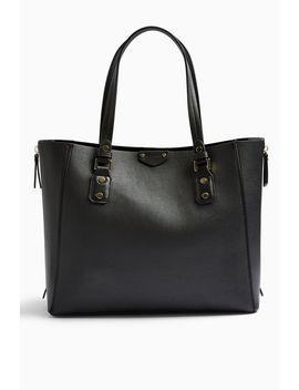 New Trip Black Shopper Bag by Topshop