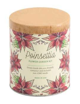 Made In Usa Poinsettia Wax Planter Grow Kit by Tj Maxx