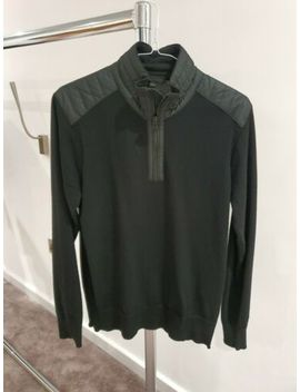 Belstaff Black Pullover Small Extra Fine Merino Made In Italy by Ebay Seller