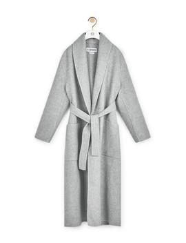 Robe Coat       Grey by Loewe