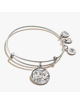 Disney Frozen® Elsa And Anna Charm Bangle Rafaelian Silver by Alex And Ani