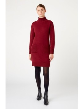 Hobbs Red Carla Knitted Dress by Next