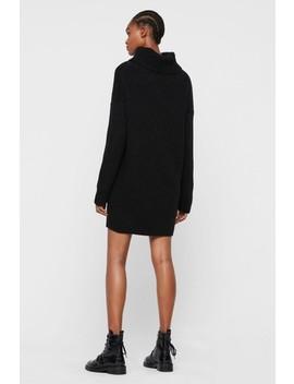 All Saints Black Claudette Jumper Dress by Next