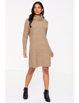 Only Roll Neck Knit Dress by Next