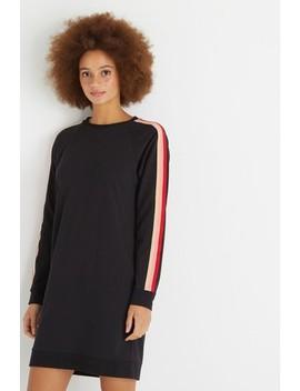 Oliver Bonas Stripe Trim Sweat Dress by Next