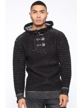Stay Cozy Sweater   Black/Combo by Fashion Nova