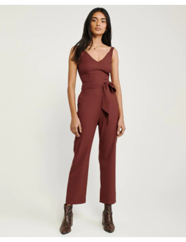 V Neck Jumpsuit by Abercrombie & Fitch