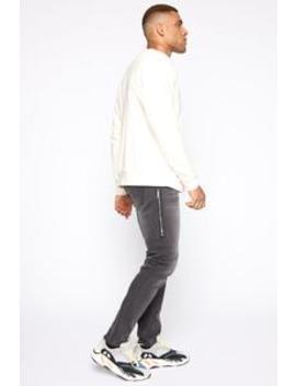 Lax Slim Taper Jean   Black by Fashion Nova