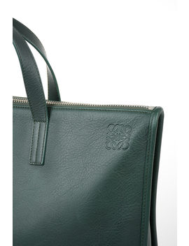 Leather Business Bag by Loewe