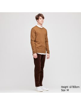 Pull En Laine MÉrinos Extra Fine Col Rond Homme by Uniqlo