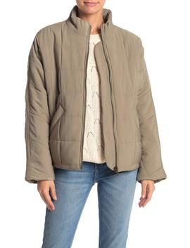 Quilted Dolman Sleeve Jacket by Elodie