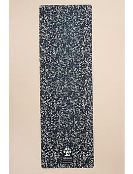 Yogi Bare Teddy Floral Print Yoga Mat by Anthropologie