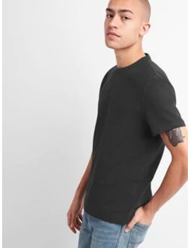 Heavyweight Short Sleeve Crewneck T Shirt by Gap