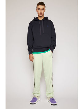 Classic Fit Hooded Sweatshirt Navy by Acne Studios