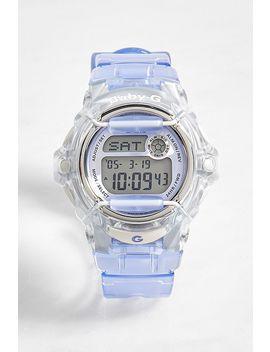 Casio Baby G Bg169 R Transparent Lilac Watch by Casio