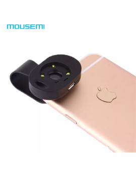 Wholesale 120x Macro Lens With Led Light For I Phone 7 6 5s Camera Mobile Phone Macro Lens To Smartphone Lenses For Xiaomi Redmi by D Hgate.Com