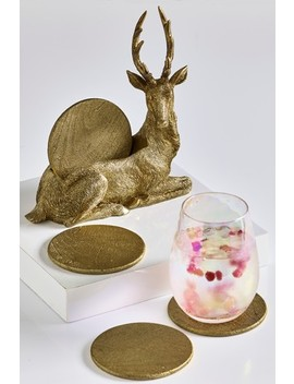 Stag Coaster Holder by Next
