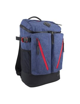 Dual Chambray Impact Backpack With Multiple Compartments by Fuel