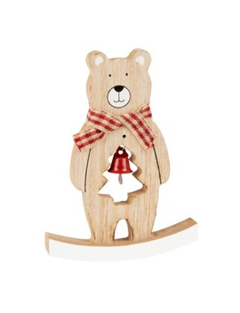 Rocking Bear Christmas Decoration by Maisons Du Monde