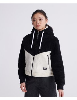 Double Hybrid Zip Hoodie by Superdry