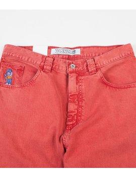 Polar 93 Denim Jeans   Washed Red by Polar