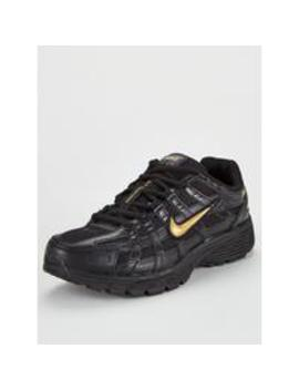 P 6000   Black/Gold by Nike