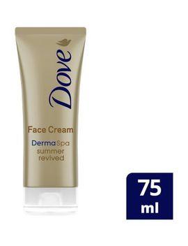 Dove Derma Spa Summer Revived Fair   Medium Gradual Self Tan Face Cream 75ml by Dove
