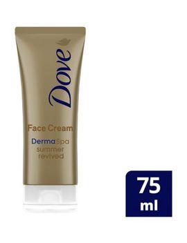 Dove Derma Spa Summer Revived Medium   Dark Gradual Self Tan Face Cream 75ml by Dove