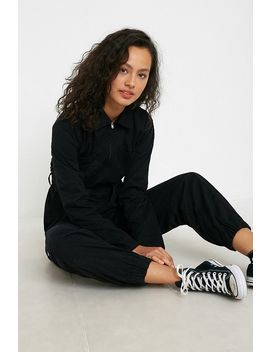 Uo Rosalie Black Boilersuit by Urban Outfitters