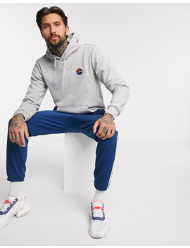 Adidas Originals – Bodega – Grauer Kapuzenpullover Mit Basketball Stickerei by Asos