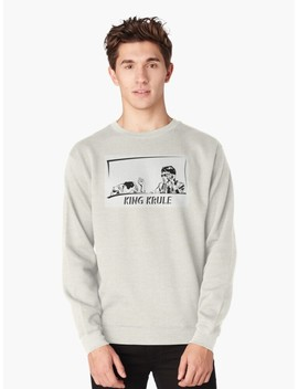 King Krule Black Shading Pullover Sweatshirt by Snozzcumber