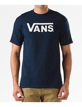Vans Classic Navy T Shirt by Zumiez