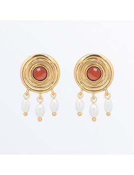 Red Antique Earrings                                       Raphaelle                                                                                                                                                                                       ... by Ana Luisa