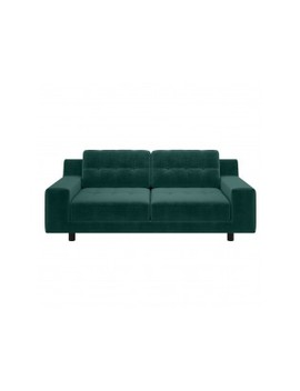 2 Seater Sofa Emerald Velvet 2 Seat Sofa by Hendricks  Hendricks