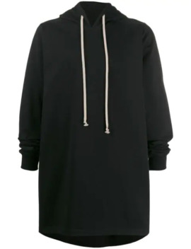 Long Length Jersey Hoody by Rick Owens