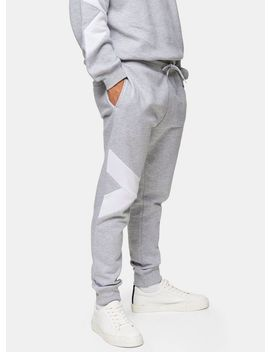 Considered Grey Organic Cotton Joggers by Topman