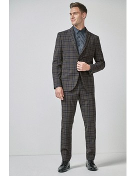 Check Suit: Trousers by Next