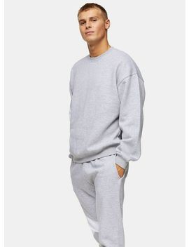 Considered Grey Organic Cotton Sweatshirt by Topman