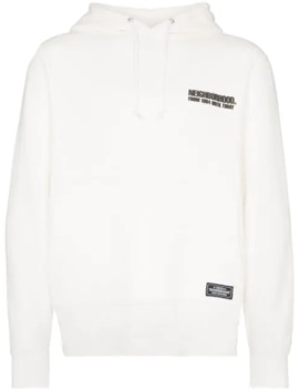 Logo Print Hoodie by Neighborhood