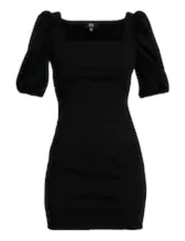 Lola Skye Puff Sleeve Dress   Shift Dress by Dorothy Perkins