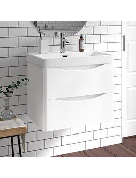 Yair 600mm Wall Mount Vanity Unit by Belfry Bathroom