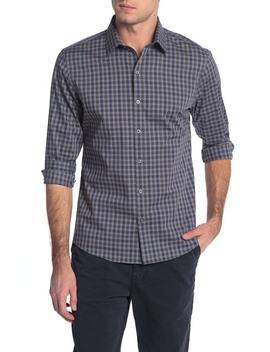Check Print Regular Fit Shirt by Zachary Prell