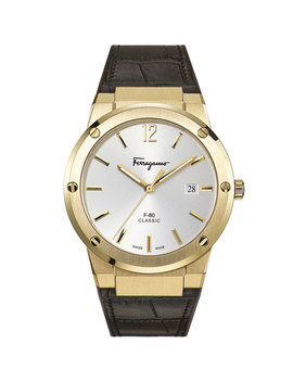 Men's F 80 Leather Watch by Salvatore Ferragamo