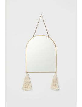 Mirror With Tassels by H&M