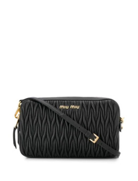 Matelassé Cross Body Bag by Miu Miu