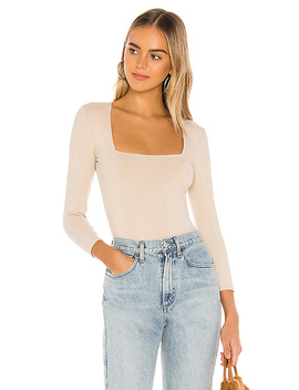 Truth Or Square Bodysuit In Nude by Free People