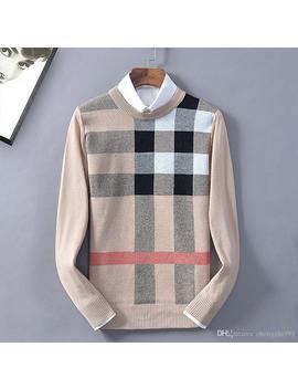 Designer Mens Hoodie New Burberri Comfortable Sweatshirt Classic Joker Plaid Shirt Sweater High Quality Luxury Fashion Brand Pullover by D Hgate.Com