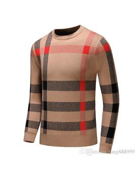 New Mens Brand Designer Sweater Fashion Hip Hop Style High Collar Women 100% Woollen Sweater Luxury Cotton Casual Medusa Sweaters by D Hgate.Com