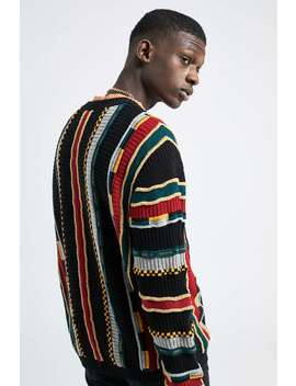 Urban Outfitters – Mehrfarbiger Strickpullover Mit Struktur by Urban Outfitters Shoppen