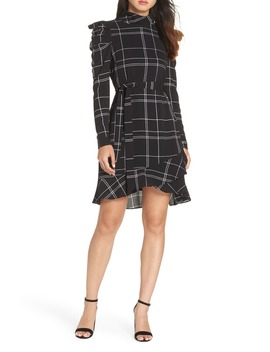 Long Sleeve Crepe Dress by Julia Jordan